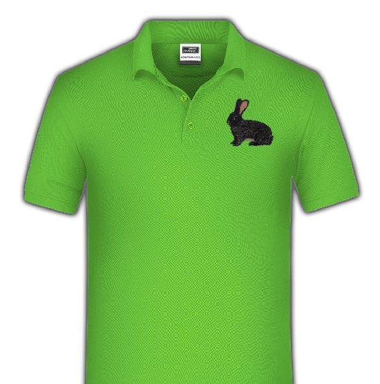 Polo-Shirt bestickt mit Deutscher Riese dunkelgrau P2028 anthrazit 3XL