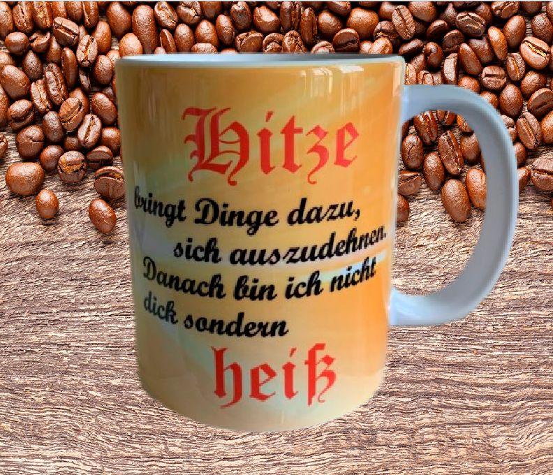 Kaffeetasse Hitze bringt Dinge sich auszudehnen Tasse T1