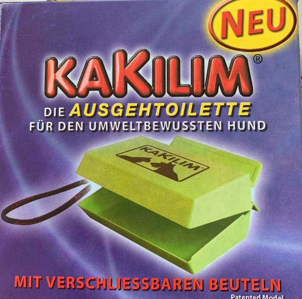 3  Stück Kakilim Die Ausgeh-Toilette für den Hund Hundetoilette
