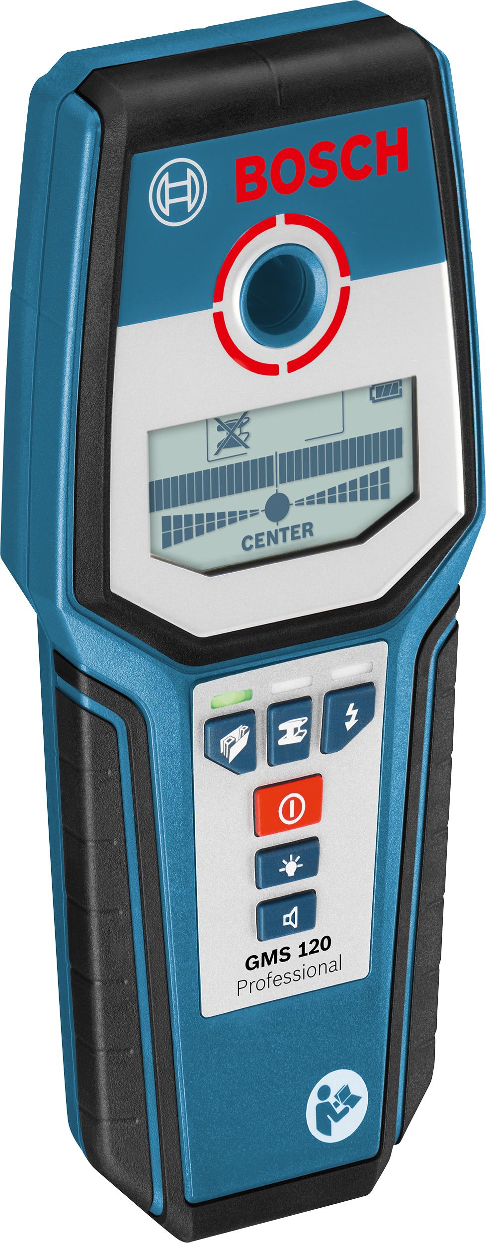 Bosch GMS 120 Professional Metallortungsgerät m. Schutztasche